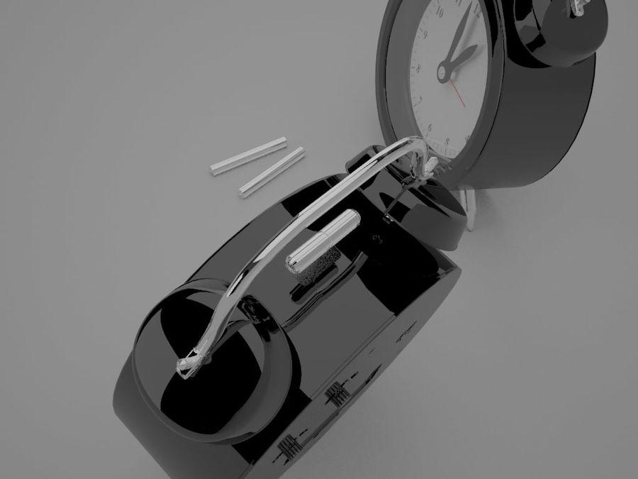 Alarm Clock royalty-free 3d model - Preview no. 2