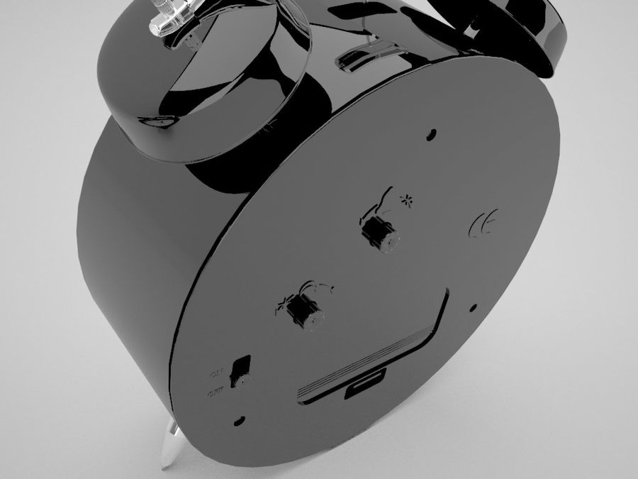 Alarm Clock royalty-free 3d model - Preview no. 11