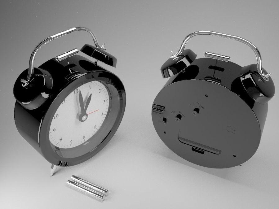 Alarm Clock royalty-free 3d model - Preview no. 1