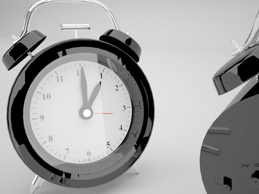 Alarm Clock royalty-free 3d model - Preview no. 13