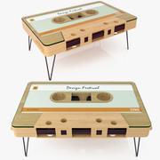 カセットテープコーヒーテーブル 3d model