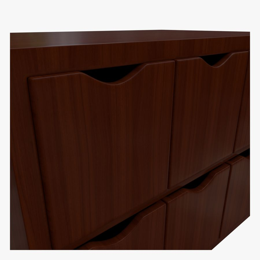 Cabinet royalty-free 3d model - Preview no. 5