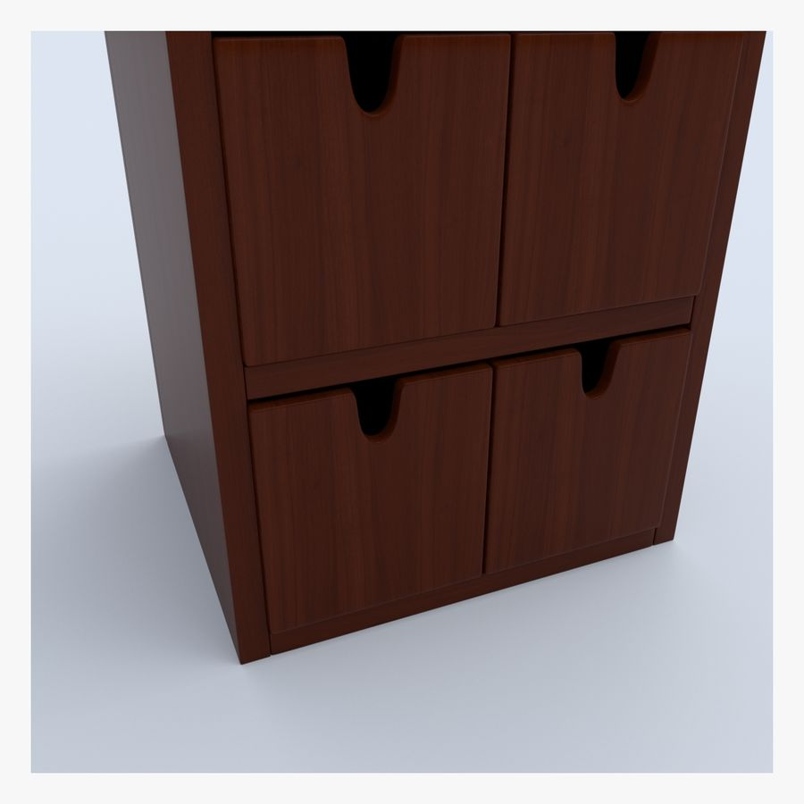 Cabinet royalty-free 3d model - Preview no. 7