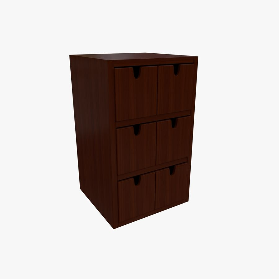Cabinet royalty-free 3d model - Preview no. 3