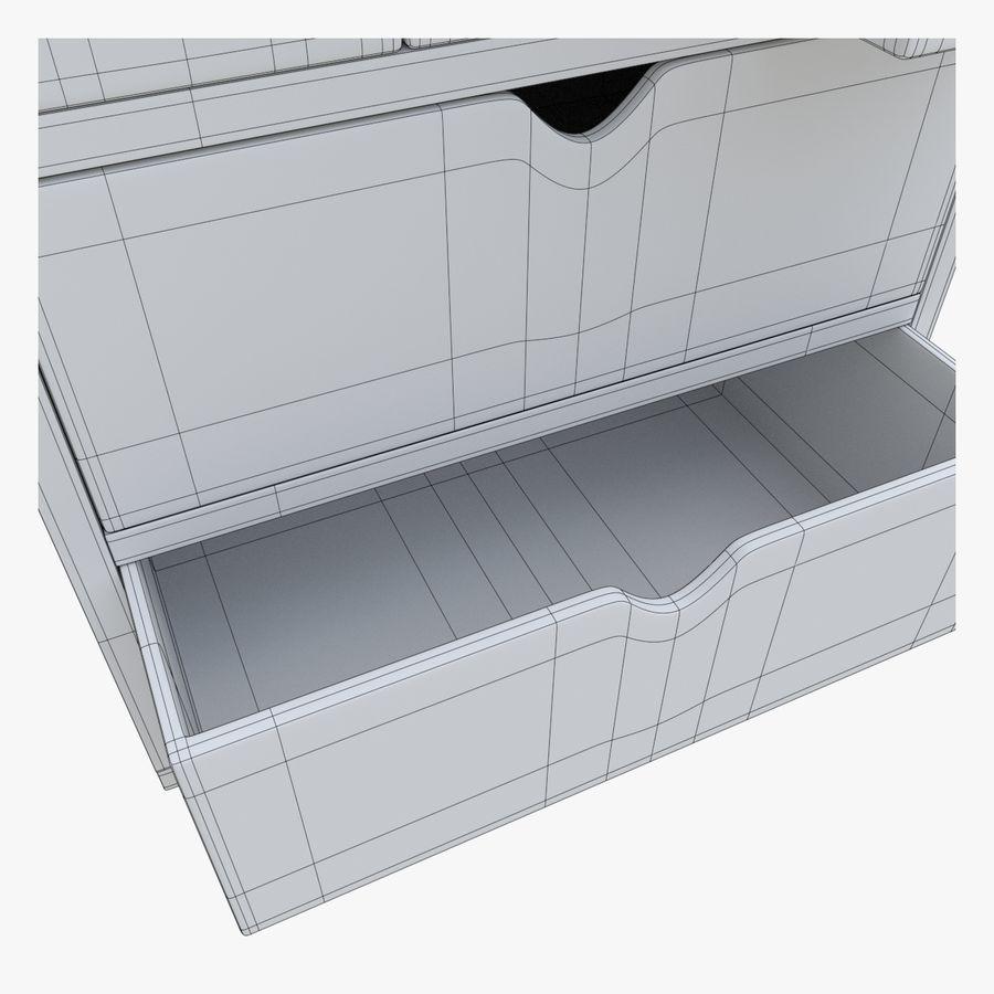 Mueble de madera royalty-free modelo 3d - Preview no. 13