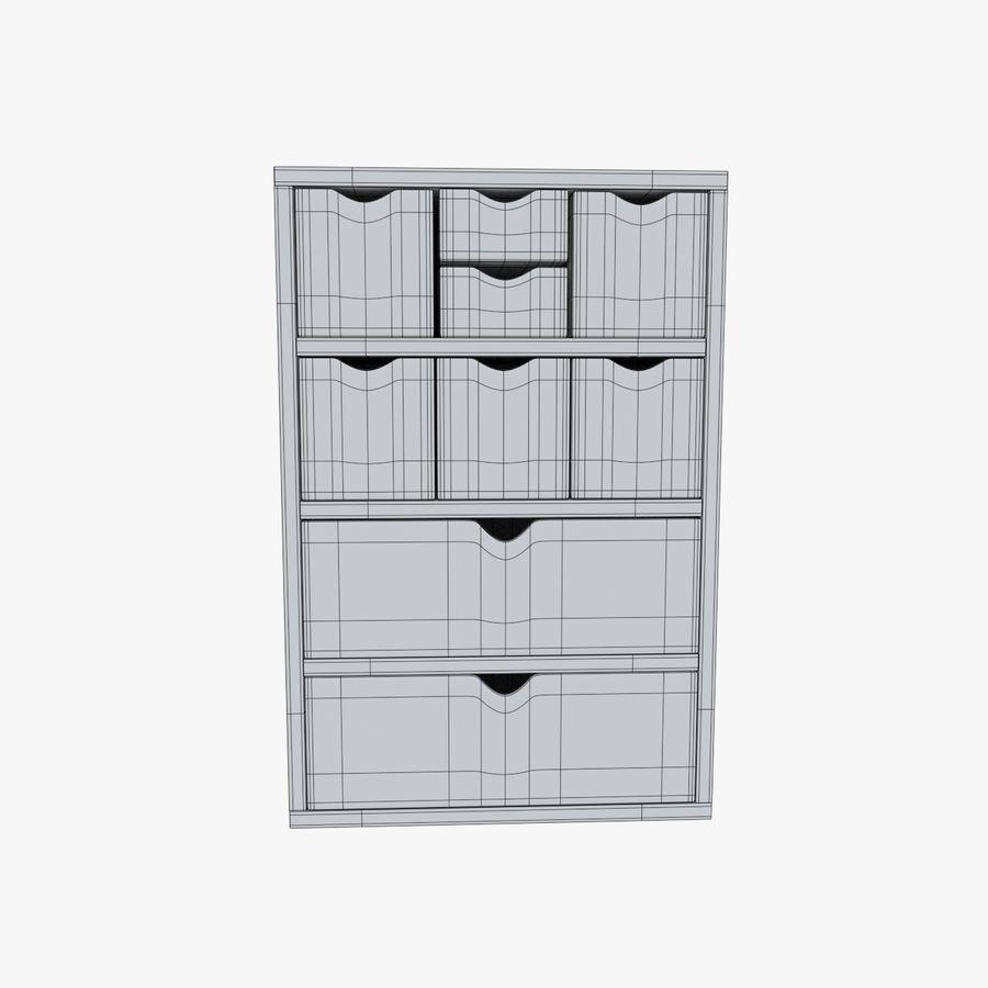 Mueble de madera royalty-free modelo 3d - Preview no. 10