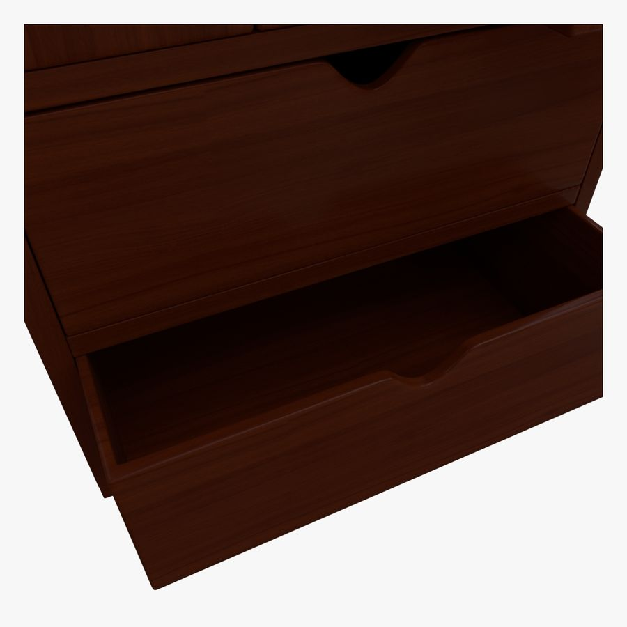 Mueble de madera royalty-free modelo 3d - Preview no. 9