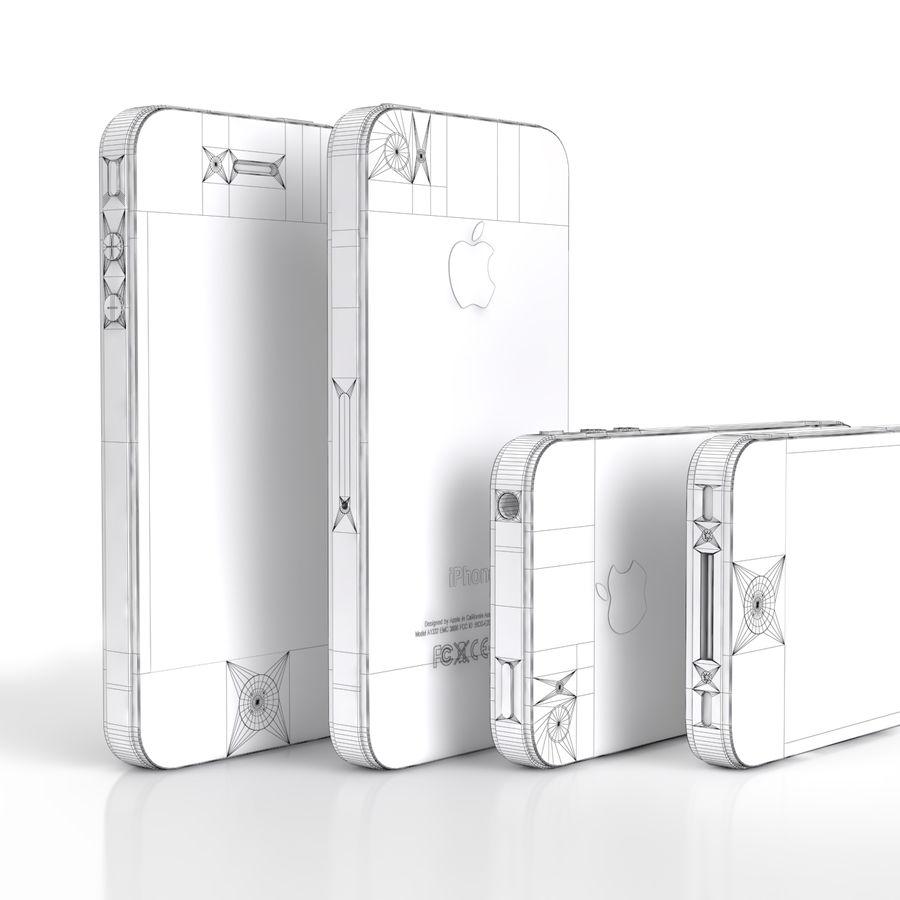 苹果手机4 royalty-free 3d model - Preview no. 2