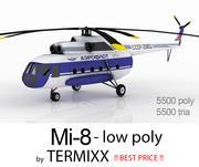 Mi-8皮肤2 3d model