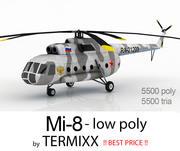 Mi-8 Skin 4 3d model