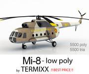 Mi-8 Etiophia AIR FORCE 3d model