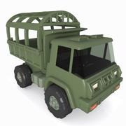 Cartoon Military Truck 3d model