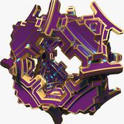 Abstrakt form A3 3d model