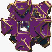 Abstrakt form A7 3d model
