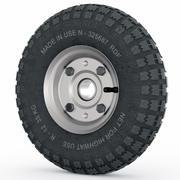 Carrinho de roda 3d model
