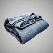 접힌 천 담요 3d model