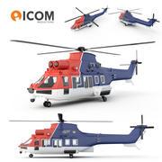 Elicottero CHC 3d model