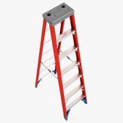双面梯子02 3d model