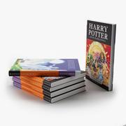 Book Harry Potter 3d model