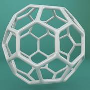 Geometric Shape 012 3d model