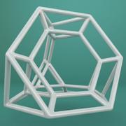 Geometric Shape 038 3d model