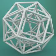 Geometric Shape 043 3d model