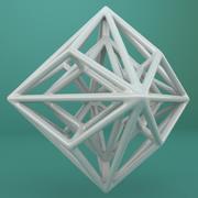 Geometric Shape 049 3d model