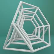Geometric Shape 054 3d model