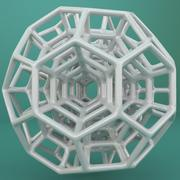 Geometrik Şekil 057 3d model