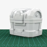 Crown Chest 3D Print READY 3d model