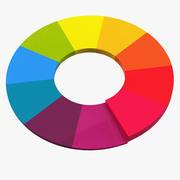 Color Wheel 02 3d model