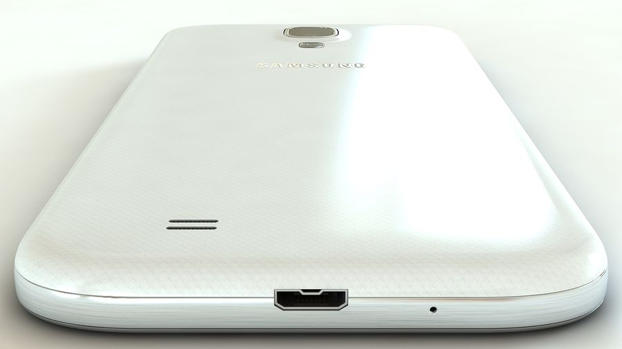 Samsung Galaxy S4 royalty-free 3d model - Preview no. 6