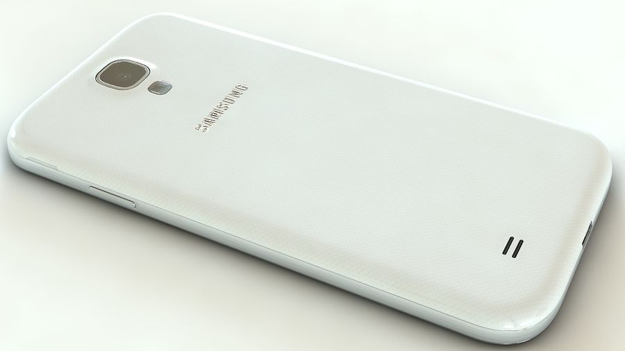 Samsung Galaxy S4 royalty-free 3d model - Preview no. 7