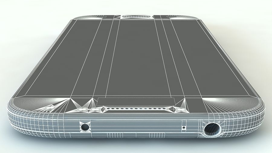 Samsung Galaxy S4 royalty-free 3d model - Preview no. 12