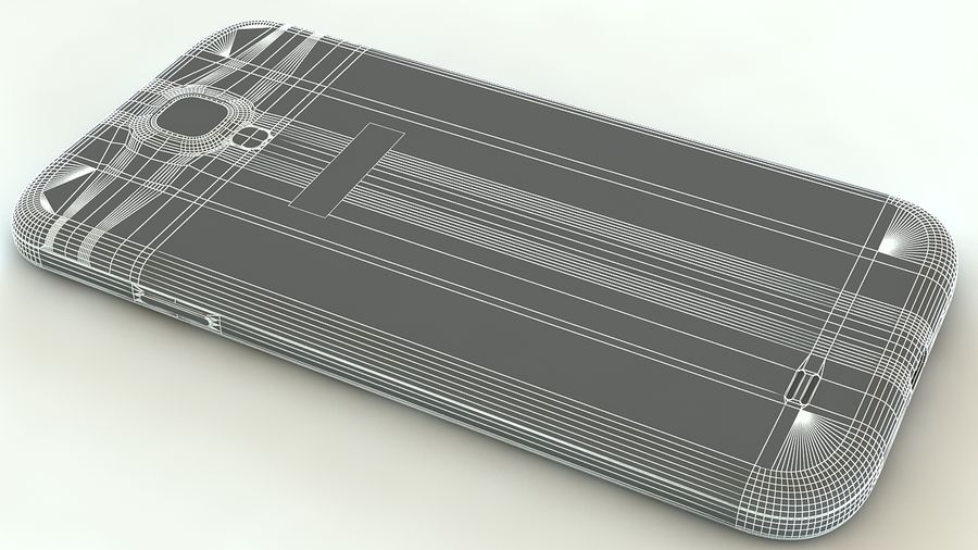 Samsung Galaxy S4 royalty-free 3d model - Preview no. 15