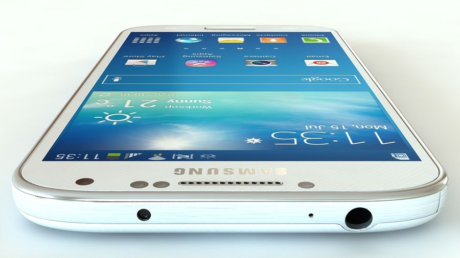 Samsung Galaxy S4 royalty-free 3d model - Preview no. 4