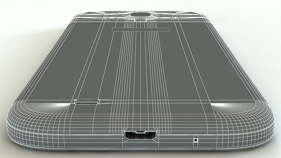 Samsung Galaxy S4 royalty-free 3d model - Preview no. 14