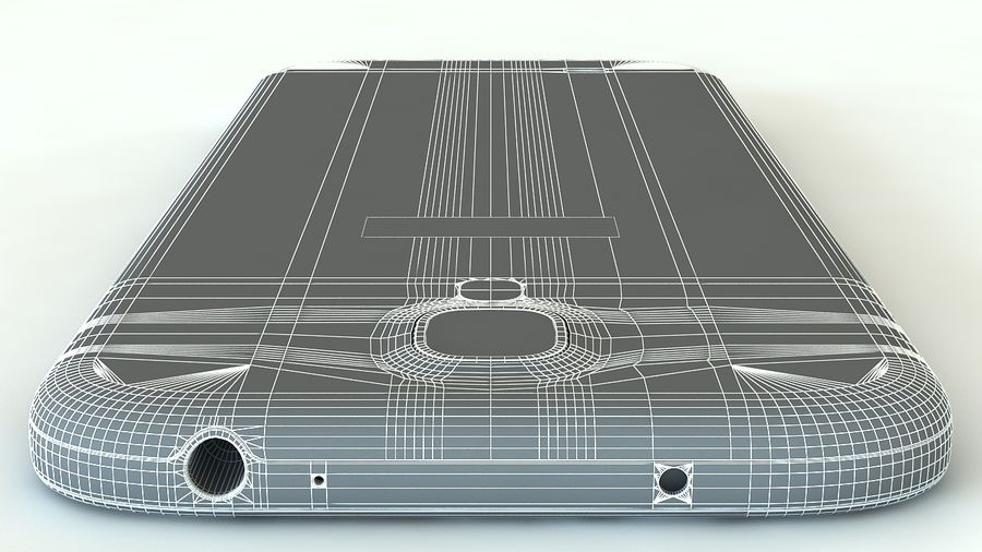 Samsung Galaxy S4 royalty-free 3d model - Preview no. 16