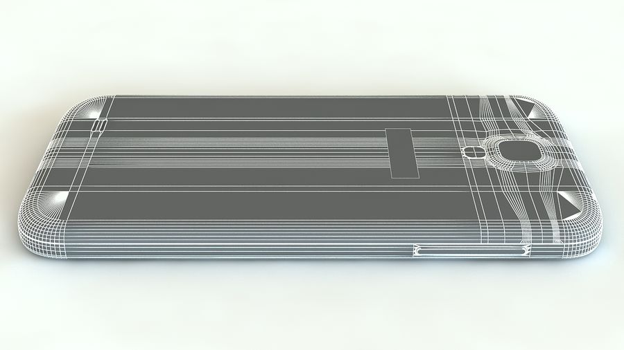 Samsung Galaxy S4 royalty-free 3d model - Preview no. 17