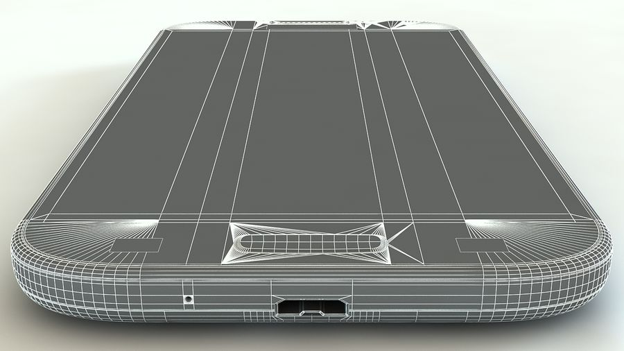 Samsung Galaxy S4 royalty-free 3d model - Preview no. 10