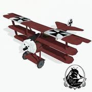 Fokker Dr.I 3d model