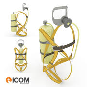 자 급식 호흡 장치-대표성 3d model