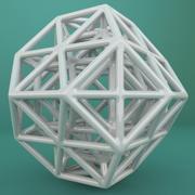 Geometrik Şekil 079 3d model