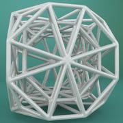 Geometric Shape 082 3d model