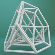 Geometric Shape 091 3d model