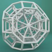 Geometric Shape 095 3d model