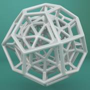 Geometric Shape 097 3d model