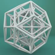 Geometric Shape 098 3d model