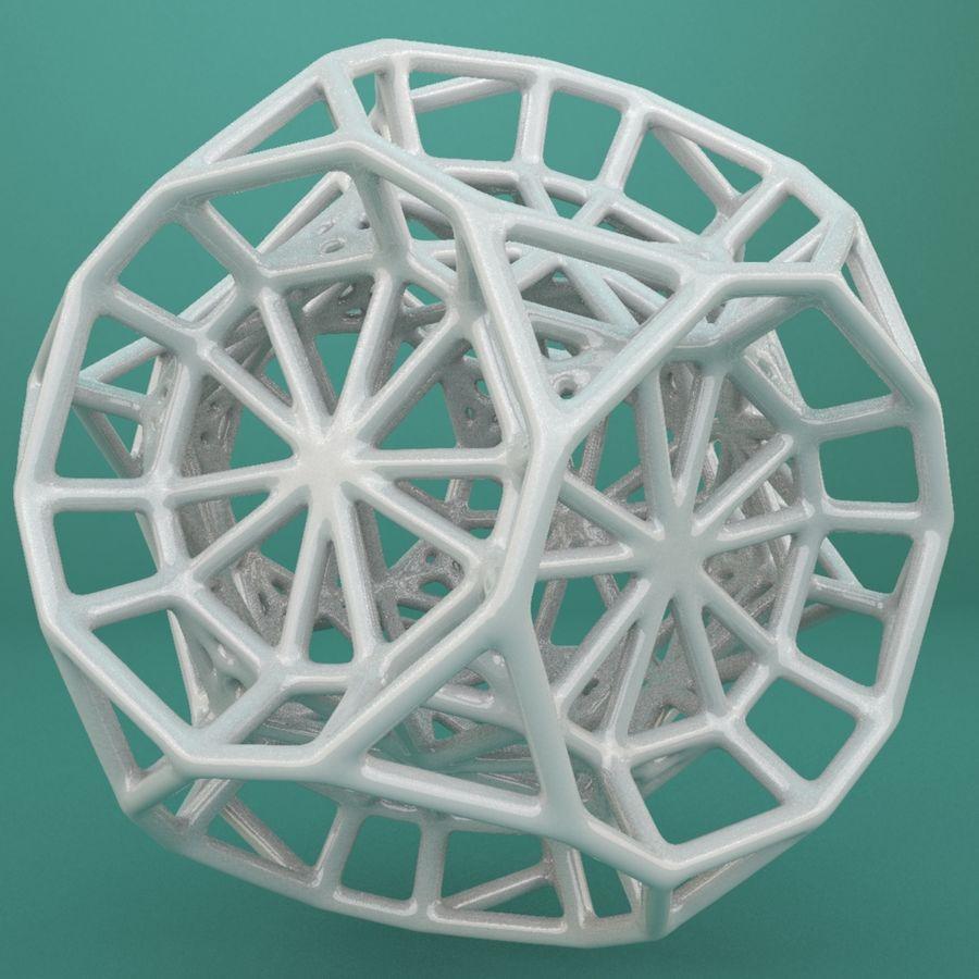 Geometrik Şekil 103 royalty-free 3d model - Preview no. 5