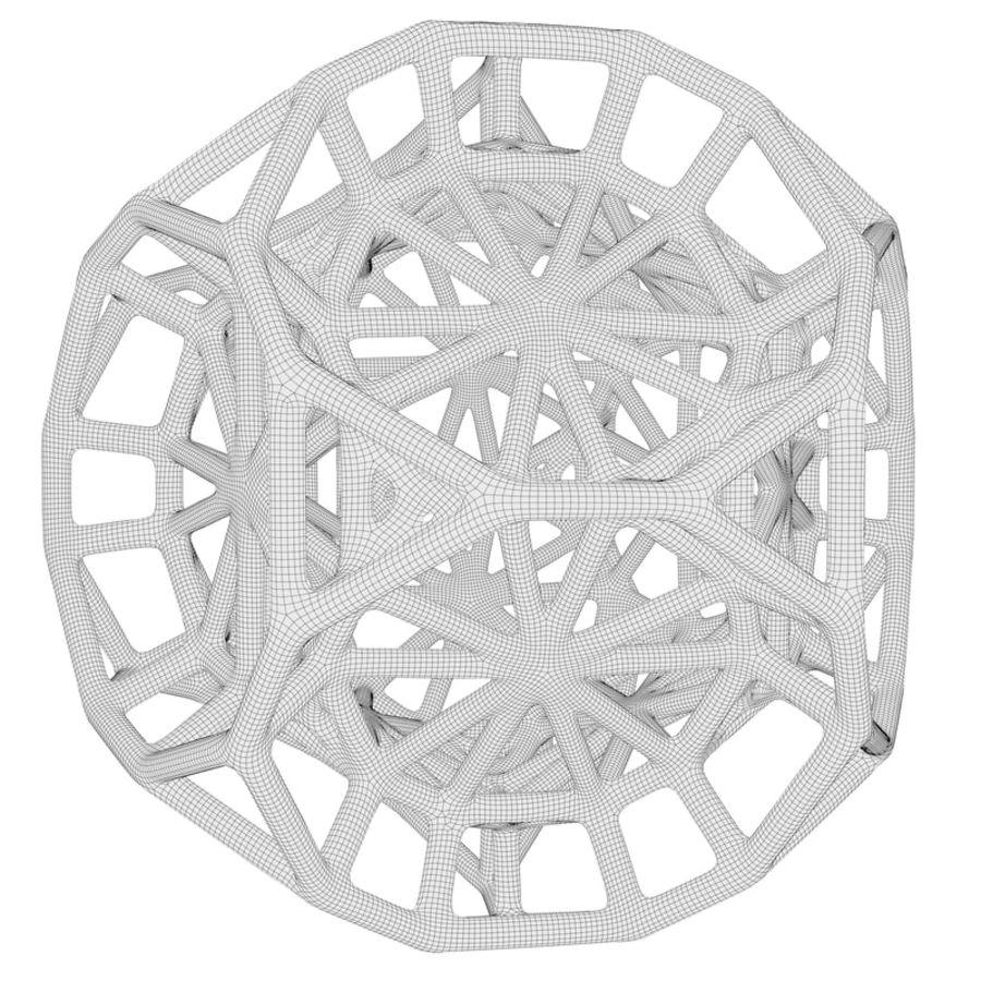 Geometrik Şekil 103 royalty-free 3d model - Preview no. 6